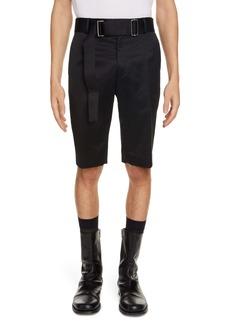 Dries Van Noten Palford Belted Shorts