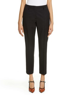 Dries Van Noten Paola Cotton & Wool Ankle Pants