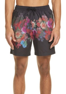 Dries Van Noten Phibbs Floral Swim Trunks