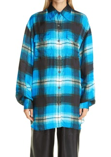 Dries Van Noten Plaid Shirt