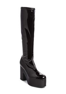 Dries Van Noten Platform Knee High Boot (Women)