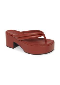 Dries Van Noten Platform Thong Sandal (Women)