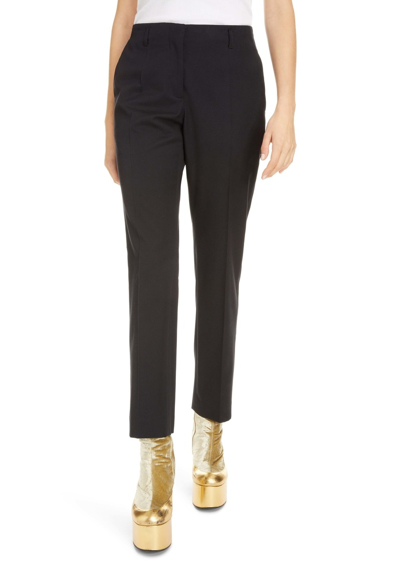 Dries Van Noten Poiretti Cotton & Wool Trousers