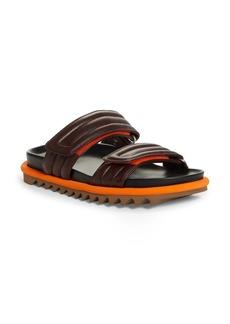 Dries Van Noten Quilted Double Strap Slide Sandal (Women)