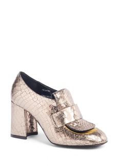 Dries Van Noten Reptile Loafer Pump (Women)