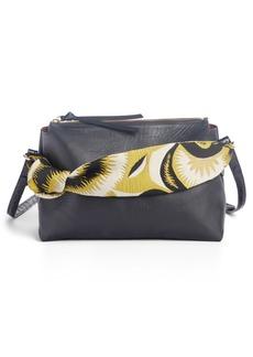 Dries Van Noten Scarf Handle Leather Bag
