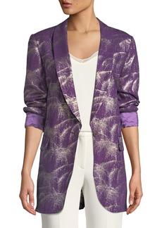 Dries Van Noten Single-Breasted Starburst Lurex® Jacket
