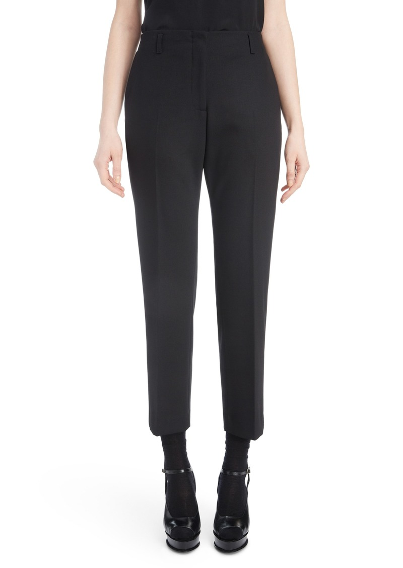 Dries Van Noten Slim Stretch Crop Pants
