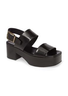 Dries Van Noten Slingback Platform Sandal (Women)
