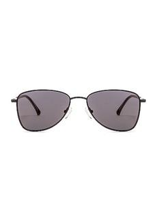 Dries Van Noten Small Metal Aviator Sunglasses