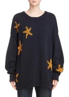 Dries Van Noten Starfish Intarsia Sweater