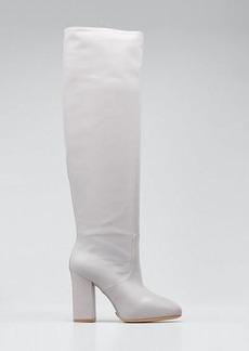 Dries Van Noten Tall Shaft Leather Boots