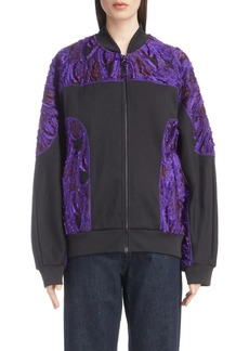 Dries Van Noten Textured Bomber Jacket