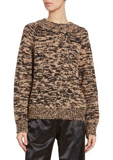 Dries Van Noten Two-Tone Wool Sweater