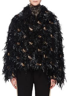 Dries Van Noten Vicenza Fringe Embroidered Jacket