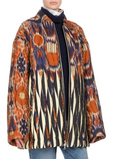 Dries Van Noten Voltes Ikat Bomber Jacket