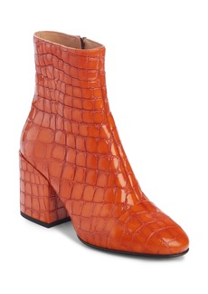 Dries Van Noten Waterproof Block Heel Bootie (Women)