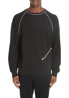 Dries Van Noten Western Piped Sweatshirt