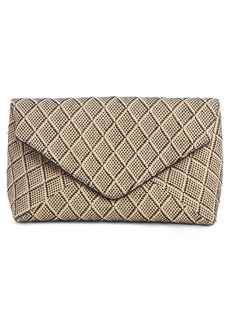 Dries Van Noten Woven Envelope Clutch