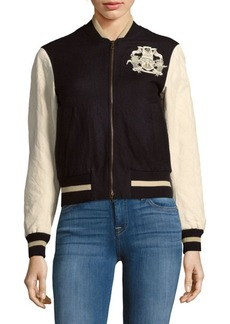 Dries Van Noten Zippered Bomber Jacket