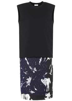 Dries Van Noten Embellished cotton dress