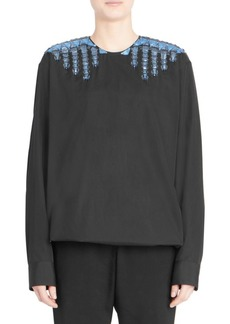 Dries Van Noten Embellished Cotton Tunic