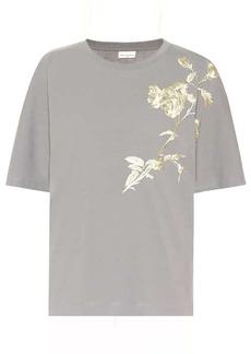 Dries Van Noten Embroidered cotton T-shirt
