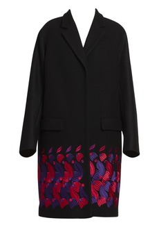 Dries Van Noten Embroidered Overcoat