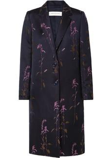 Dries Van Noten Embroidered Twill Coat
