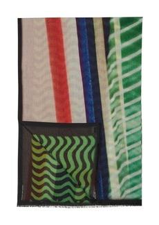 Dries Van Noten Fizzle scarf
