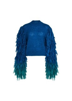 Dries Van Noten Fringed sweater