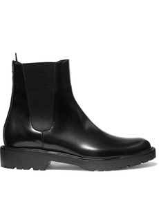Dries Van Noten Glossed-leather Chelsea Boots