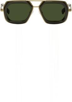 Dries Van Noten Green & Gold 173 C4 Sunglasses