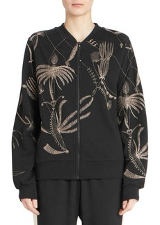 Dries Van Noten Embroidered Bomber Knit