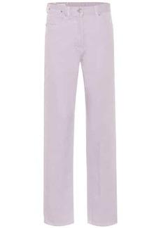 Dries Van Noten High-rise straight jeans