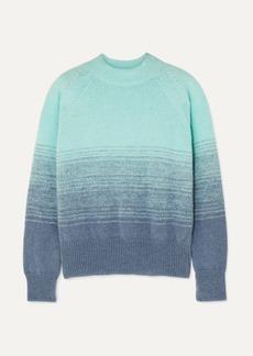 Dries Van Noten Knitted Ombre Sweater