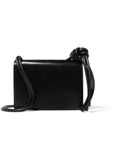 Dries Van Noten Knotted Large Leather Shoulder Bag