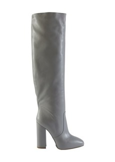 Dries Van Noten Leather thigh boots