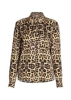 Dries Van Noten Leopard-Print Blouse