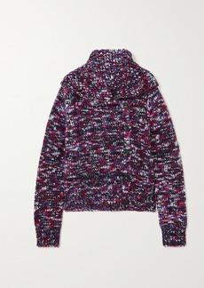 Dries Van Noten Melange Merino Wool-blend Cardigan