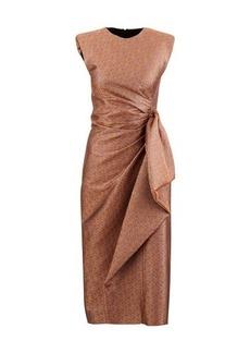 Dries Van Noten Metallic dress