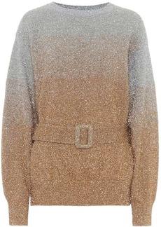 Dries Van Noten Metallic sweater