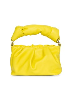 Dries Van Noten Mini Knotted Leather Bag