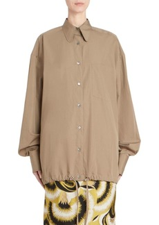Dries Van Noten Oversize Button-Down Shirt