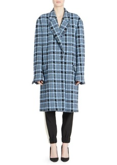 Dries Van Noten Oversized Check Jacket