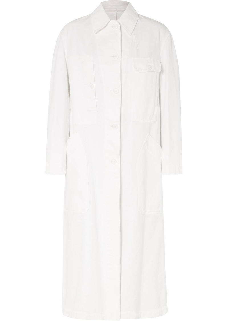 Dries Van Noten Oversized Cotton-gabardine Coat