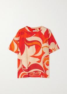 Dries Van Noten Oversized Floral-print Cotton-jersey T-shirt
