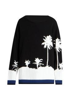 Dries Van Noten Palm Graphic Sweater