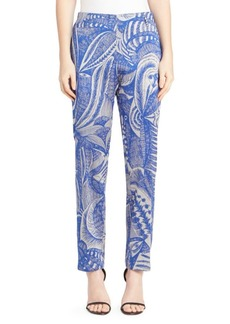 Dries Van Noten Jacquard Pants
