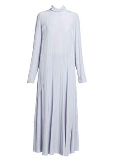 Dries Van Noten Plain Turtleneck Midi Dress